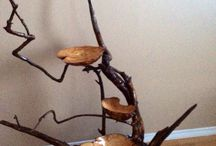 BURL BOWLS AND RUSTIC FURNITURE / Everything with wood