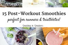 Meals for Runners and Triathletes / Tons of great recipes for runners and triathletes, from carb loading meals for the night before a big race, to recovery smoothies and post-workout snacks, to homemade fuel options.