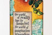 Art Journalling / Ideas and gallery of art journals
