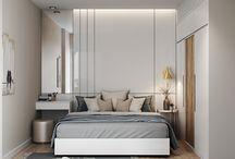 Camere da letto dell'appartamento
