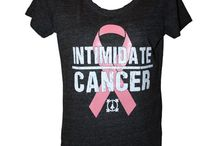 Intimidate Cancer / Intimidate Cancer line from Intimidation Clothing. Helping raise awareness and funds for cancer research. A portion of the proceeds from each t-shirt sold will be donated to cancer research or families dealing with cancer.