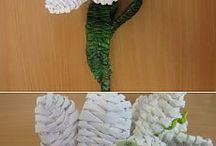 Fonott virágok