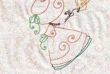 embroidery swirly bonnet