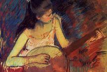 Artist - Mary Cassatt / by Jeanne Medina