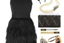 MPS 606 - Roaring 20s' / Fashion inspired by Roaring 20s.