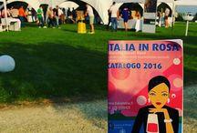 Profumi di vacanza tra Vino  e Lago #italiainrosa