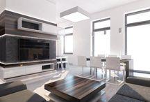Návrh interiéru luxusního bytu 3+1 v Brně / Oslovil nás mladý brněnský právník s návrhem spolupráce na rekonstrukci jeho bytu 3+1 v centru Brna.