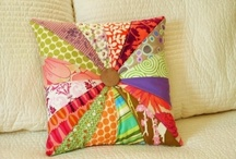 patchwork pillows / by Tracy Coolbaugh