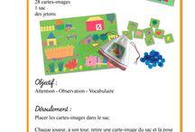 Ecole : sac à album Petite Poule rousse
