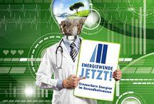 Erneuerbare Energien im Gesundheitswesen / Allgemeine Informationen zum Thema erneuerbare Energien im Gesundheitswesen.