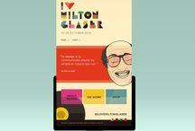 Milton Glaser / Student Work- Milton Glaser Exhibition