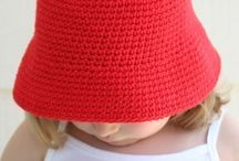 Crochet- HATS / New board for just hat ideas / by Krishna Williams