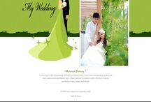 Garden Party / Undangan pernikahan online tema Garden party,Wedding invitation online, Wedding website