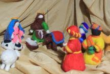 HERENCIA DE FAMILIA / Juguetes y objetos decorativos elaborados a mano.