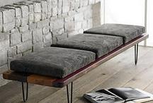 Furniture   Bench / by Millie Clarke