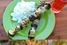 Shish Kabobs / by Jeanne' Catlin