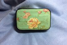 My altered tins