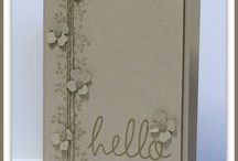 bordering blooms / Stampin up Stamp Sets quick & Easy cards using stampin up stamps and punches featuring many of your favourite stamp sets and punches, including sprinkles of life, wetlands, petite petals, lovely as a tree, painted petals, sheltering tree, butterfly basics etc.