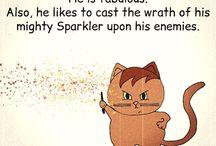 Zmittens, the dragon-cat