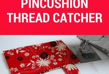 pincushion thread holder.