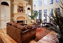 Living room ideas / New house / by Chelsea Bellantuono