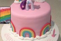 Torta e addobbo primo compleanno