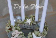 Vánoce  De la Fleur - God Jul