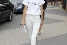 White skinny jeans outfit ideas