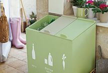 meuble entree recyclage