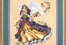 Cross Stitch-Angels & Faries / by Donna Carlino