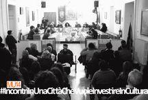 MU14 e Franco Arminio per #IncontriInUnaCittàCheVuoleInvestireInCultura
