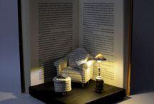 книга источник творчества / скульптуры из книг