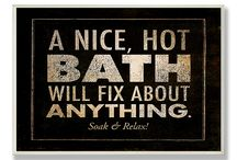 Bath, shower ...