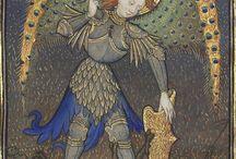 Drakar änglar medeltida