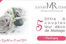Jeu Mariage Réussi / Jeu pour gagner sa décoration de mariage