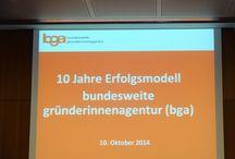 BGA Kongress  Berlin 10.10.2014 / Gründerinnenagentur