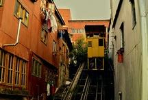 VA AL PARAÍSO...Valparaíso / Yo no he sabido nunca de su historia, un día nace allí sencillamente... / by rebeca ibaceta