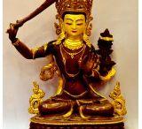 Manjushree:  bodhisattva statue / by Buddha Statues