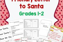 Christmas, Hanukkah Literacy / Reading and writing activities for the winter holidays of Christmas and Hanukkah.