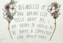 Self-Love Quotes and Tips / The best self-love quotes, tips, affirmations, and art on Pinterest!  ♥
