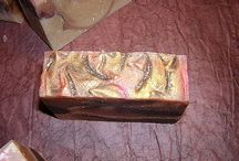 Decorated goat milk soaps / Kecsketejes/kecsketejsavós szappanok alkalmi díszítéssel