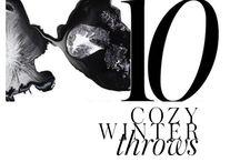 10 COZY WINTER THROWS