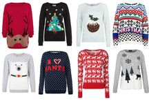 Santas Coming! 8 of the Best Christmas Jumpers / I am normally anti anything Christmas before December, but the phrase 'if you can't beat em, join em' comes to mind.  It's just EVERYWHERE already.  So yes, rather than fight it, I will just join in with the holiday cheer, that little bit too early.