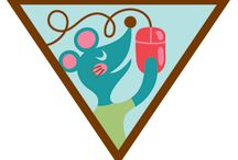 Brownies - Computer Expert / Requirements for earning the Brownie Computer Expert Badge Step 1: Paint or draw something with an art program. Step 2: Find some cool facts. Step 3: Take a trip online. Step 4: Make a connection. Step 5: Have more computer fun. / by Girl Scouts SU24