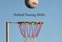 Up, up, up / Netball drills etc