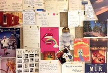 Postcards / I love postcards. I buy them for friends & for myself from all my travels. I do postcards for all my projects. Postcards for all my special moments. Memories.
