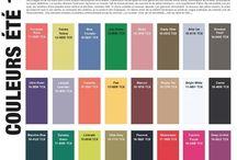 COULEURS  ÉTÉ SUMMER  S/S 2015 / #TENDANCES COULEURS printemps/été 2015 - #COLOURS S/S 2015 FASHION TRENDS #TENDANCES COULEURS printemps-été 2015 #colour trends S/S 2015