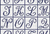 【クロスステッチ】アルファベット