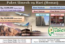 Paket Umroh Oktober 2017 / Paket Umroh Murah Oktober 2017, Harga Promo Rp 18 Jt All In Fly Saudia Airlines | Rp 20 Jt All In Fly Garuda Indonesia. Hotel Bintang 3 Dekat.