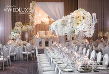Silver and white weddings
